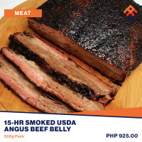 15-Hr Smoked USDA Angus Roast Beef Belly (Ready to Heat)