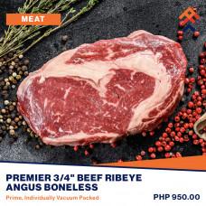 Premier Beef Ribeye Angus Boneless (Prime)