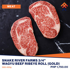 Snake River Farms Wagyu Beef Ribeyes Roll (Gold)