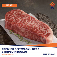 Snake River Farms Wagyu Beef Striploin (Gold)