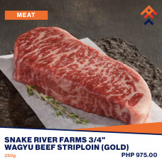 Snake River Farms Wagyu Beef Striploin (Black)