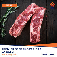 Premier Beef Short Ribs Bone-In / LA Galbi