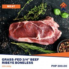 "Premier Grass-Fed 3/4"" Beef Ribeye Boneless"