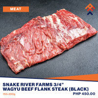 Snake River Farms Wagyu Beef Flank Steak (Black)