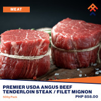 Premier Angus Beef Tenderloin Steak / Filet Mignon