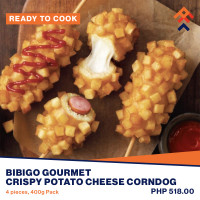 Bibigo Gourmet Crispy Potato Cheese Corndog