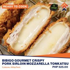 Bibigo Gourmet Crispy Pork Sirloin Mozzarella Tonkatsu