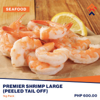 Premier Peeled (Tail Off) Shrimp Large