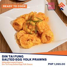 Din Tai Fung Salted Egg Yolk Prawns