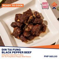 Din Tai Fung Black Pepper Beef