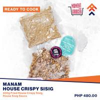 Manam House Crispy Sisig